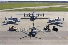 Poster, Many Sizes; Hc-130P Hercules A-10C Thunderbolt Ii Warthog Pave Hawk