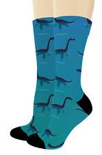 Mythical Animal Socks Cool Nessie Socks Loch Ness Monster Novelty Crew Socks
