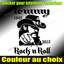 sticker autocollant rip lemmy motorhead stickers decal lemmy Kilmister