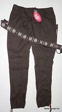 ESPRIT edc Hose + Gürtel pants Chino Hose 36 38 Regular braun brown jeans