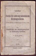 Wittern:Gesch. der Brüdergemeinde in Schleswig-Holstein