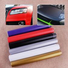 150cmx30cm Car Auto New No Bubble Matte Flat Film Wrap Sticker Decal Air Release