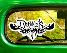 2 DETHKLOK BAND DECALs Sticker Bogo For Car Window Bumper Laptop Free Shipping