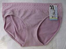 JOCKEY Microfiber Seam Free Lace BIKINIS BRIEFS WOMENS Pink Brand New w/ Tags