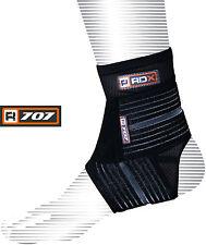 RDX Fascia per caviglia R707 lycra traspirante allenamento infortuni prevenzione