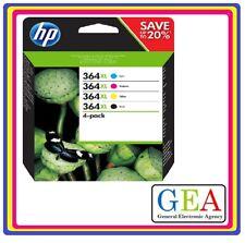 HP364 HP364XL ORIGINALE,  nero e colore,  KIT , per HP 5380,6380,5460,8550,5324
