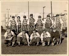 1954 San Francisco California Hotel Richelieu Cardinal Room Baseball Team Photo