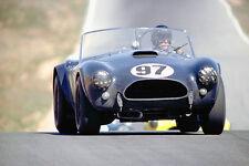 1963 Shelby Ford AC Cobra - Dan Gurney at Riverside - Promotional Race Poster