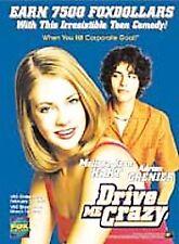 Drive Me Crazy (DVD, 2000, Widescreen) Melissa Joan Hart, Adrian Grenier