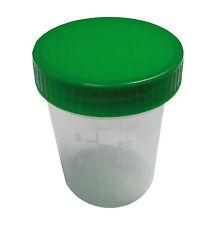 Urinbecher Urinprobenbecher 125ml Schraub o.Schnappdeckel Probenbecher n. Wahl