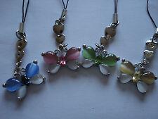 #22. 1 x mariposa cristal ojo de gatos Bolso Encanto Teléfono/