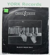 "CHINA CRISIS - Black Man Ray - Excellent Condition 7"" Single Virgin VS 752"