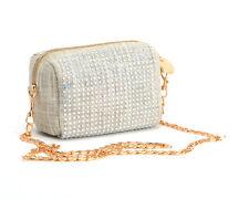 Deux Lux Handbag Coquette Crystal Studded Mini Messenger Bag-NWT-RP:$110