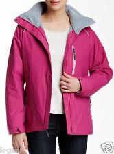 COLUMBIA Snowpeak Womens M/L/XL Interchange Winter Parka/Jacket/Coat $220 NEW