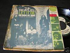 """THE BEATLES Let It Be ITALIAN Single 7"""" 1970 APPLE"""