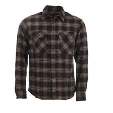 LOREAK Shirt Grey Navy Check Bakio Cotton RRP £98