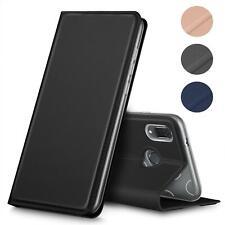 Handyhülle Huawei Klapp Tasche Etui Schutz Hülle Slim Cover Book Case