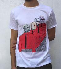 The Man Machine T shirt Artwork, Kraftwerk Inspired