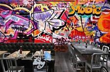 3D Graffiti Music Colorful Street Art Wall Murals Wallpaper Decals Prints Decor