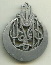 Insigne tirailleurs algériens , 1  RTA.  ( à coudre )