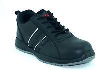 CORONA pour homme en cuir noir sécurité steel toe caps travail bottes chaussures baskets