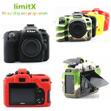 Silicone Armor Skin Case Cover Bag Protector for Nikon D7500 DSLR camera