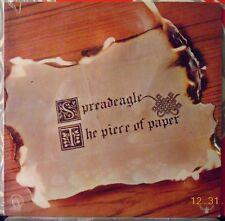 SPREADEAGLE ~ The Piece of Paper - Original 1972 US LP - MINT- Sealed!
