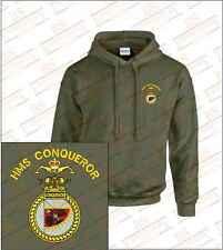 HMS CONQUEROR Crested Hooded Sweatshirts
