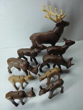Playmobil - Tiere - Waldtiere - Wildschwein, Wolf, Hirsch, Hasen, Fuchs uvm.
