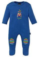 Schiesser Baby - Jungen Schlafanzug mit Fuß Einteiler Farmer Boy - 151705