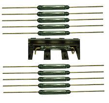 Reedkontakt 13 mm x 2 mm Miniatur Reedschalter Schließer