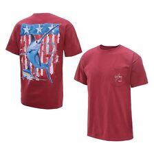 Guy Harvey Men's Swordfish Flag T-Shirt