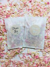 Biodegradable Confetti Glassine Bags & Throw Me Stickers Eco Petal Delphinium