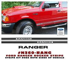 N360 FORD TRUCK - LOWER ROCKER SIDE STRIPE KIT - RANGER NAME - LICENSED