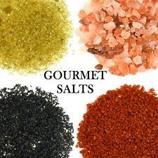 Gourmet SELS-HIMALAYA-Noir Lava-Alaea Rouge-Bambou Jade-africain perle