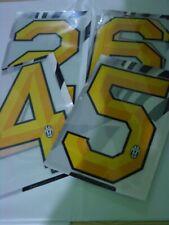 Juventus Fc Kit Numero a scelta x maglia calcio tg PVC 2011 2012 Giallo Home
