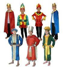 Three Wise Men King Costume Man Kings Childrens Kids Nativity Fancy Dress