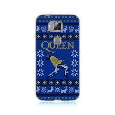 Officiel de la reine noël gel souple case pour HUAWEI phone 2