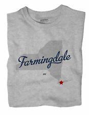 Farmingdale New York NY T-Shirt MAP