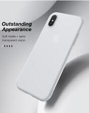 Cafele Slim Hybrid Back Case Shockproof PC+TPU Bumper Cover For Apple iPhone X