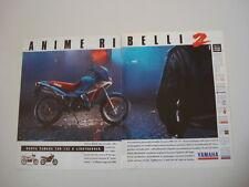advertising Pubblicità 1991 YAMAHA TDR 125 LIGHTBURNER
