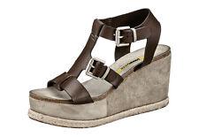 Sandalette MANAS DESIGN. Leder, dunkelbraun. NEU!!! KP 140,- € SALE%%%