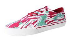 Supra Uomo Scialle Rosso/Stampa Bianco Scarpe da Skateboard Tropicale Palme