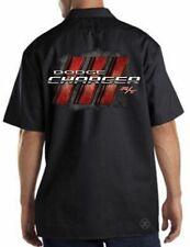 DODGE CHARGER R/T Mechanics Work Shirt Biker ~ Dickies ~ *LICENSED* MOPAR
