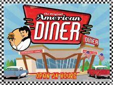 Blechschild The Original American Diner 40,7 x 30,5 cm