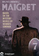 Maigret: Set 7 (DVD, 2013, 6-Disc Set) Episodes 37-42