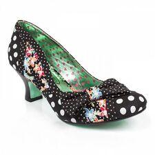 Poetic License Shake It Black Floral Womens Court Shoe Heels