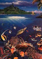 "Christian Riese Lassen Print Fantastical Sealife *  10"" x 13.75"" *  SEE VARIETY"