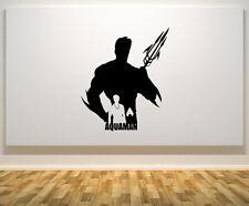 Justice League Aquaman Super Héros Chambre Autocollant Mural Art Autocollant Photo
