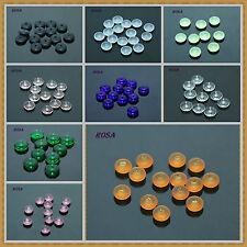 K0255- 264 Böhmische Glasslperlen Scheiben verschiedene Farben